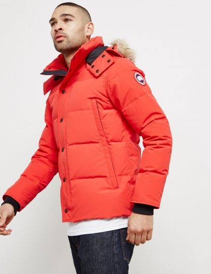 2eeab28dc Highest Quality Canada Goose Wyndham Padded Parka Jacket Canada Goose  Outlet In Uk