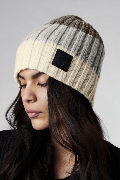 7cbe59fd8 The Best Ivory Canada Goose Hats Block Rib Slouch Hat Canada Goose Outlet  China 6944L