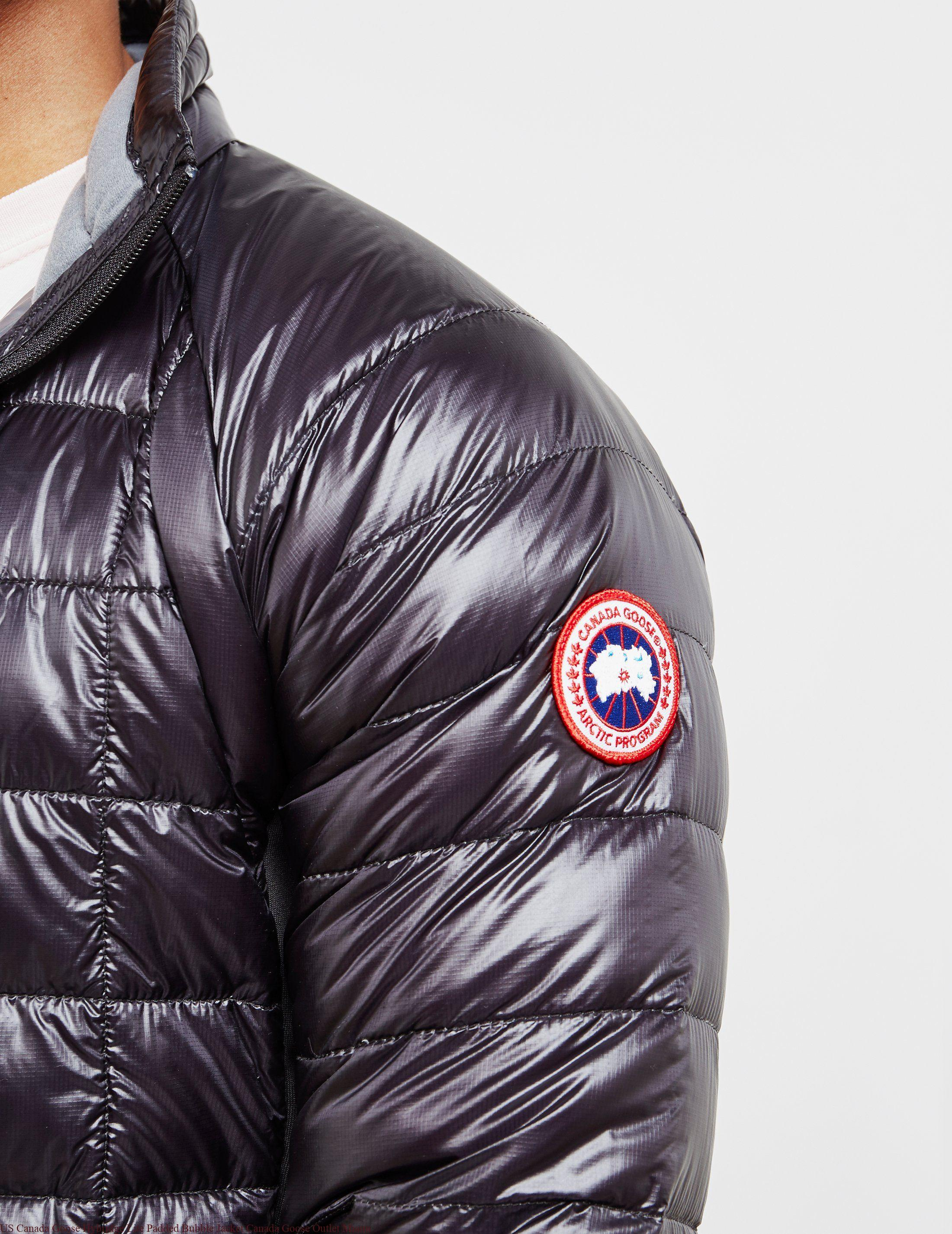 390ebf17d27 US Canada Goose Hybridge Lite Padded Bubble Jacket Canada Goose Outlet Miami